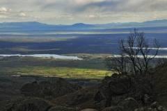 Pantano del Rosarito y la dehesa de El Llano