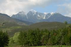 Vista del Pico Almanzor desde Candeleda
