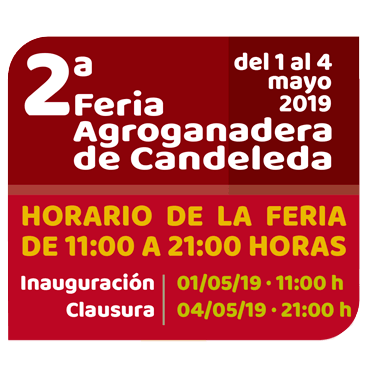 Programa actividades II Feria Agroganadera de Candeleda 2019
