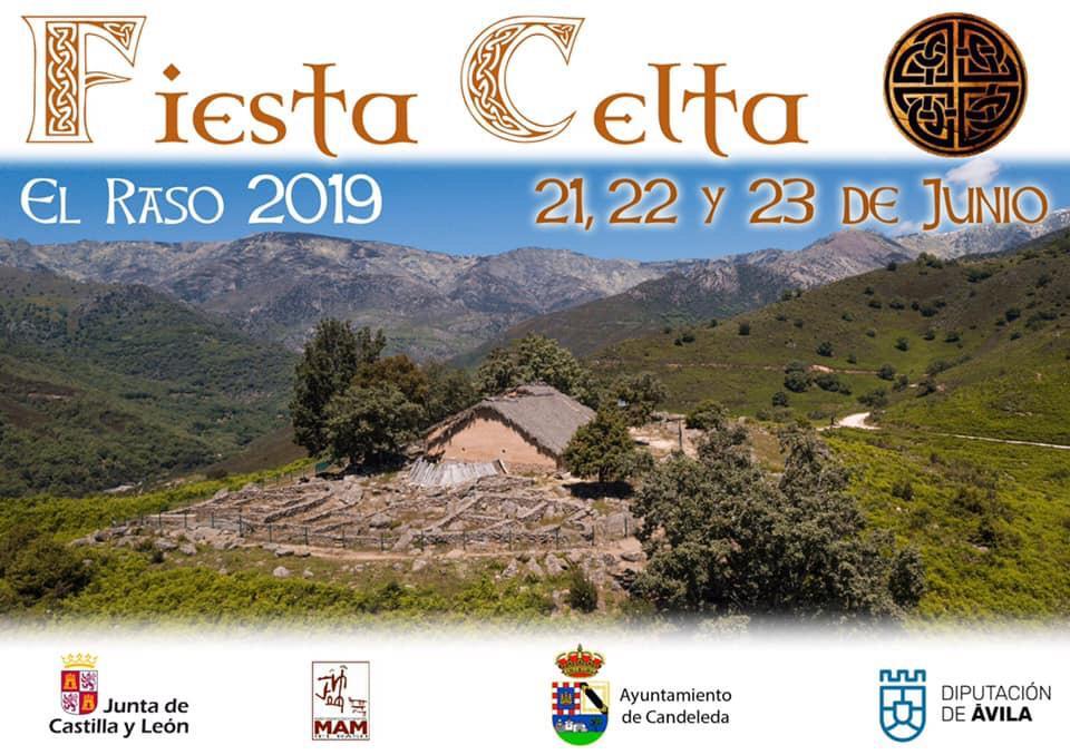 Fiesta Celta de El Raso 2019. Programa de actividades.